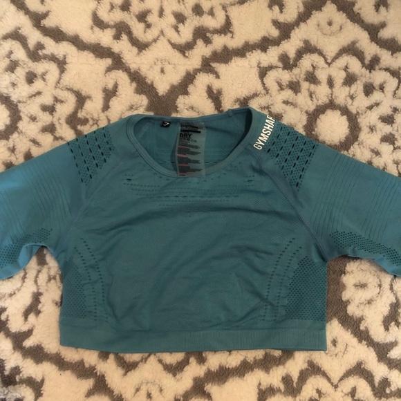 8514bc72d5def Gymshark Flawless Knit Long Sleeve Crop Top